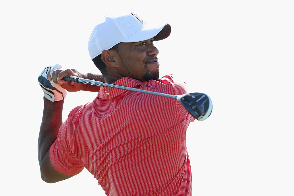 tiger woods found m1 fairway in back of shed