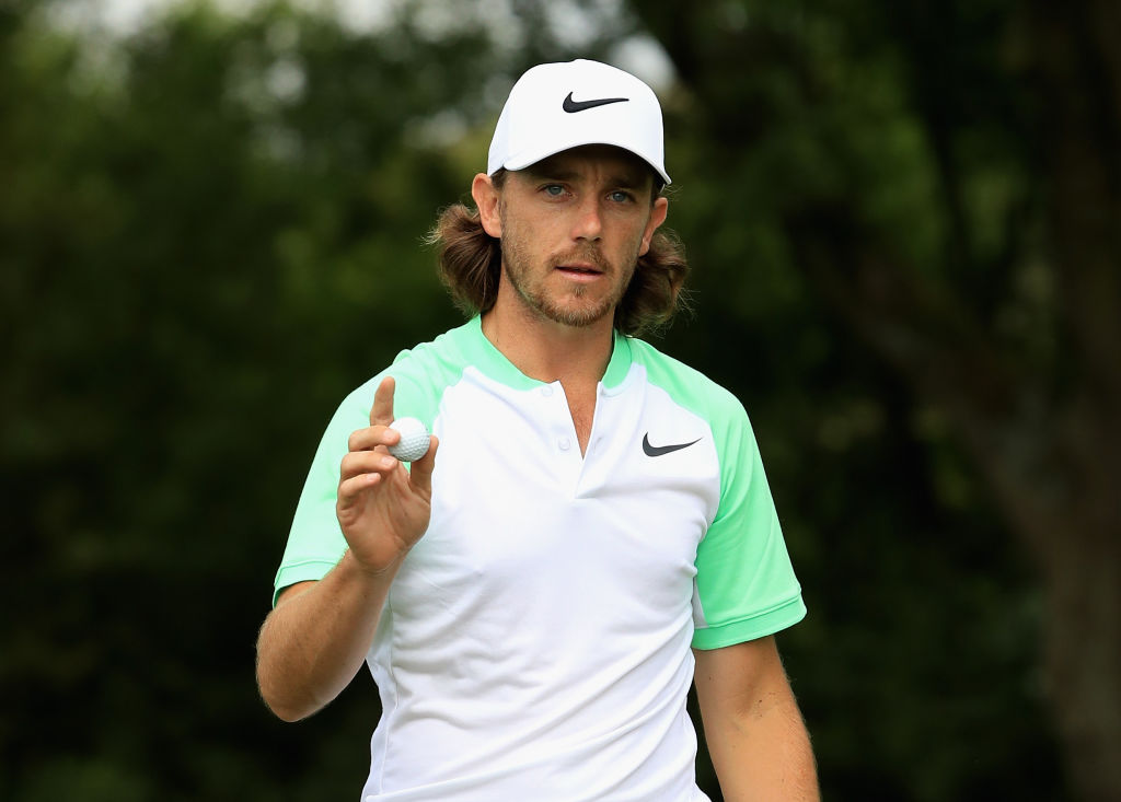 Thomas Pieters contending at French Open after breaking driver in two
