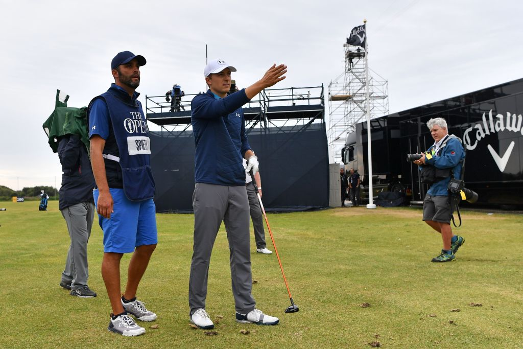 jordan spieth caddie notes from Open final round are awesome