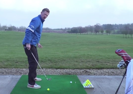 golf instruction tip to improve ball striking