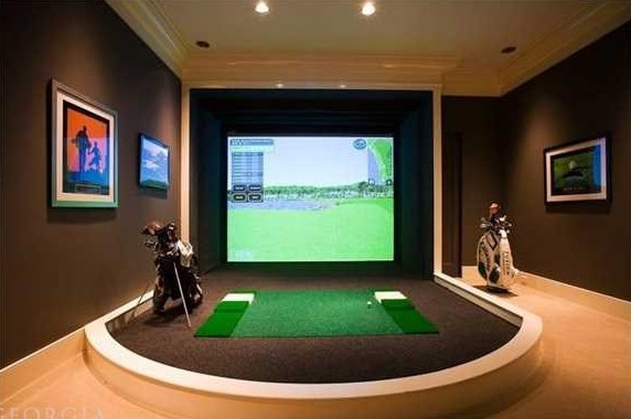 Best winter practice drills to do at home golfmagic for Indoor shooting range design uk