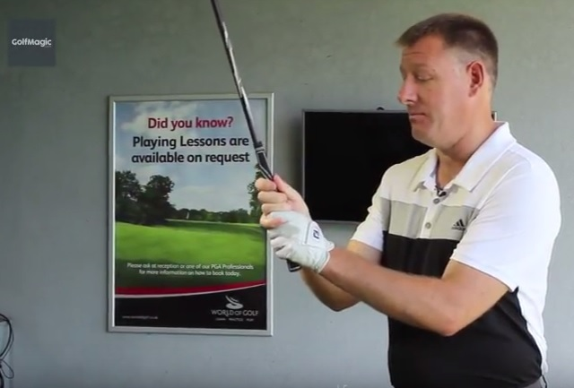 how to get the perfect golf grip