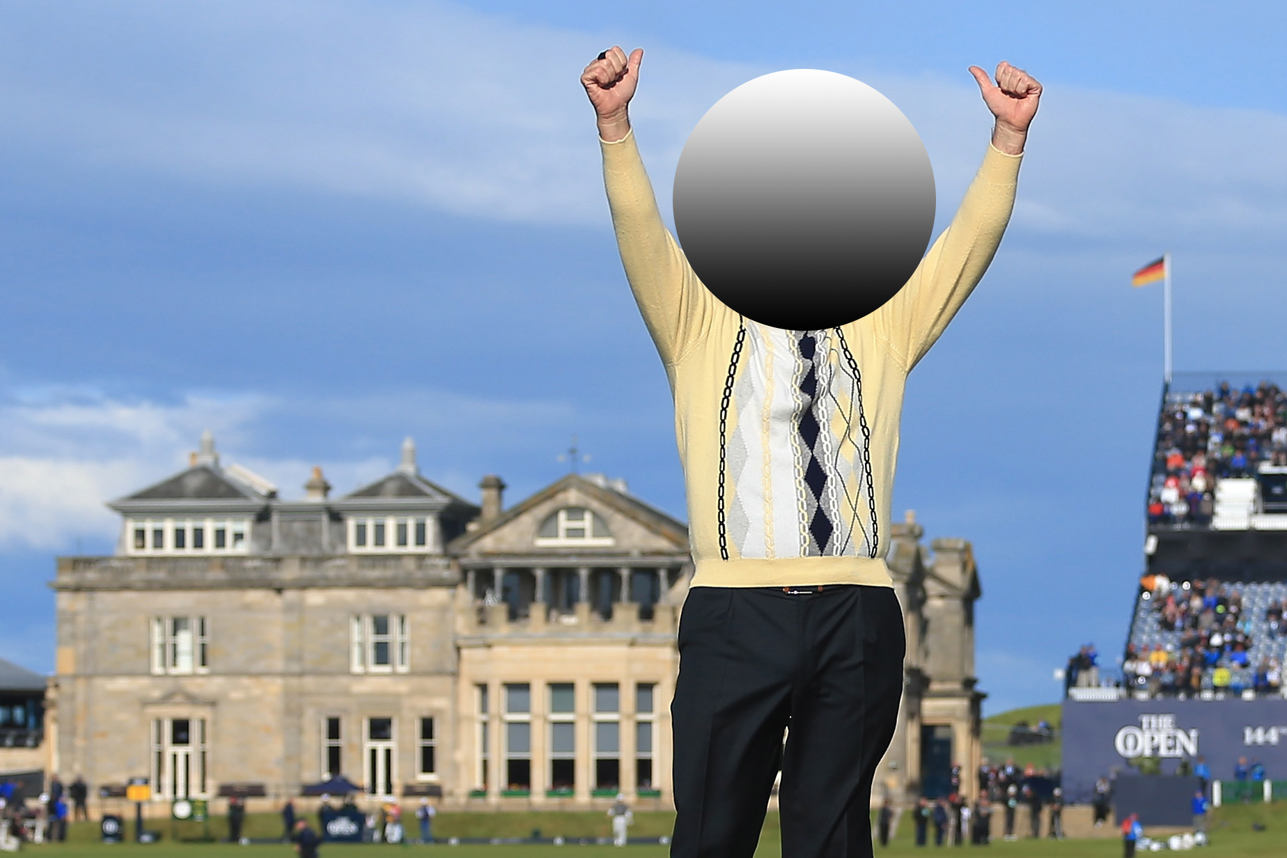 We've covered the faces of 20 world famous golfers. Only 2% of fans can identify them!