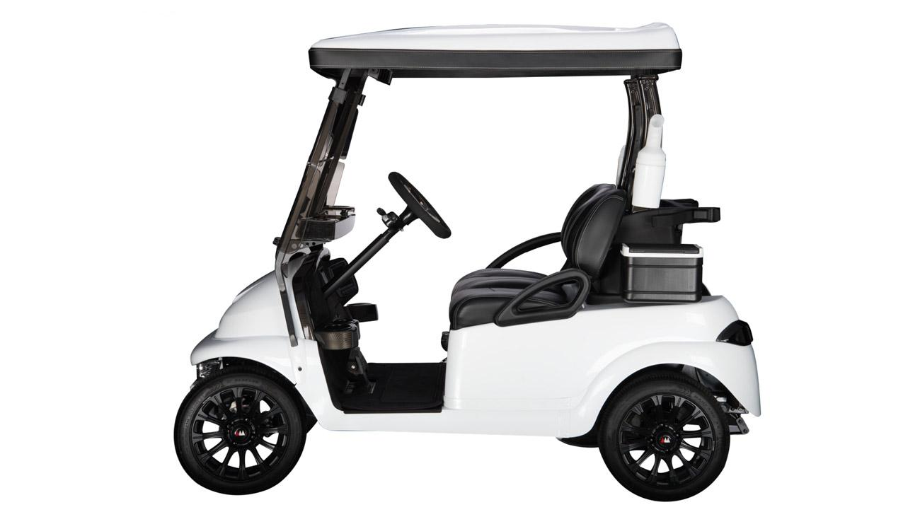 WATCH: The golf cart that can reach up to 50mph!