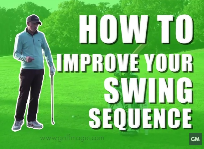 how to improve your golf swing sequence