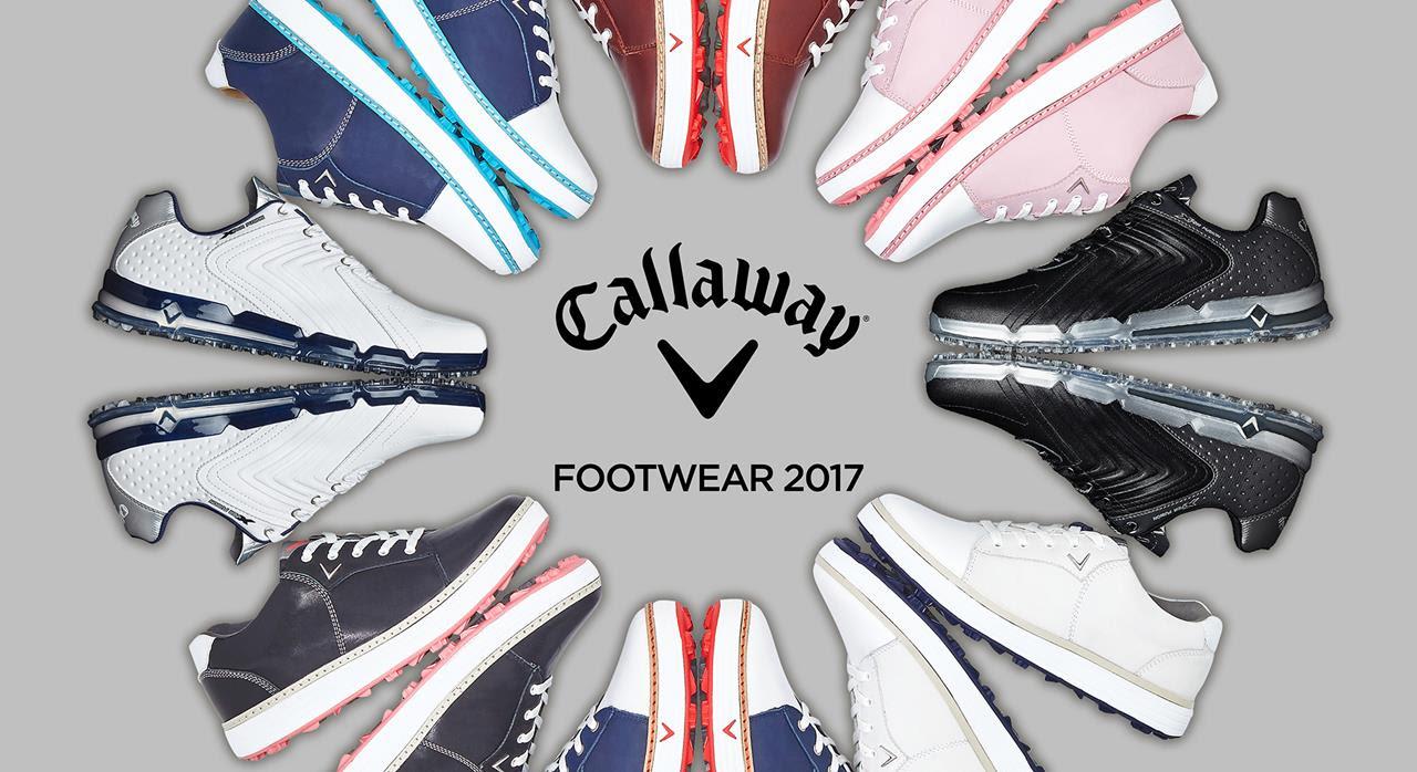 Callaway reveals 2017 golf shoe line-up