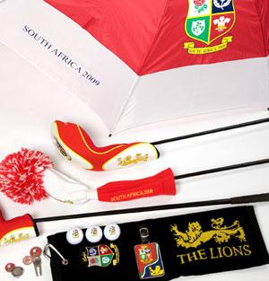 lions golf souvenirs