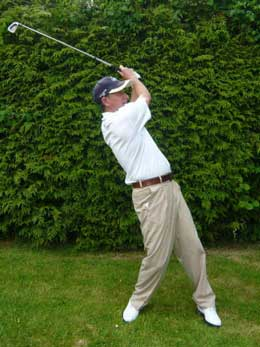 Golf tip: Quick feet will stop you slicing