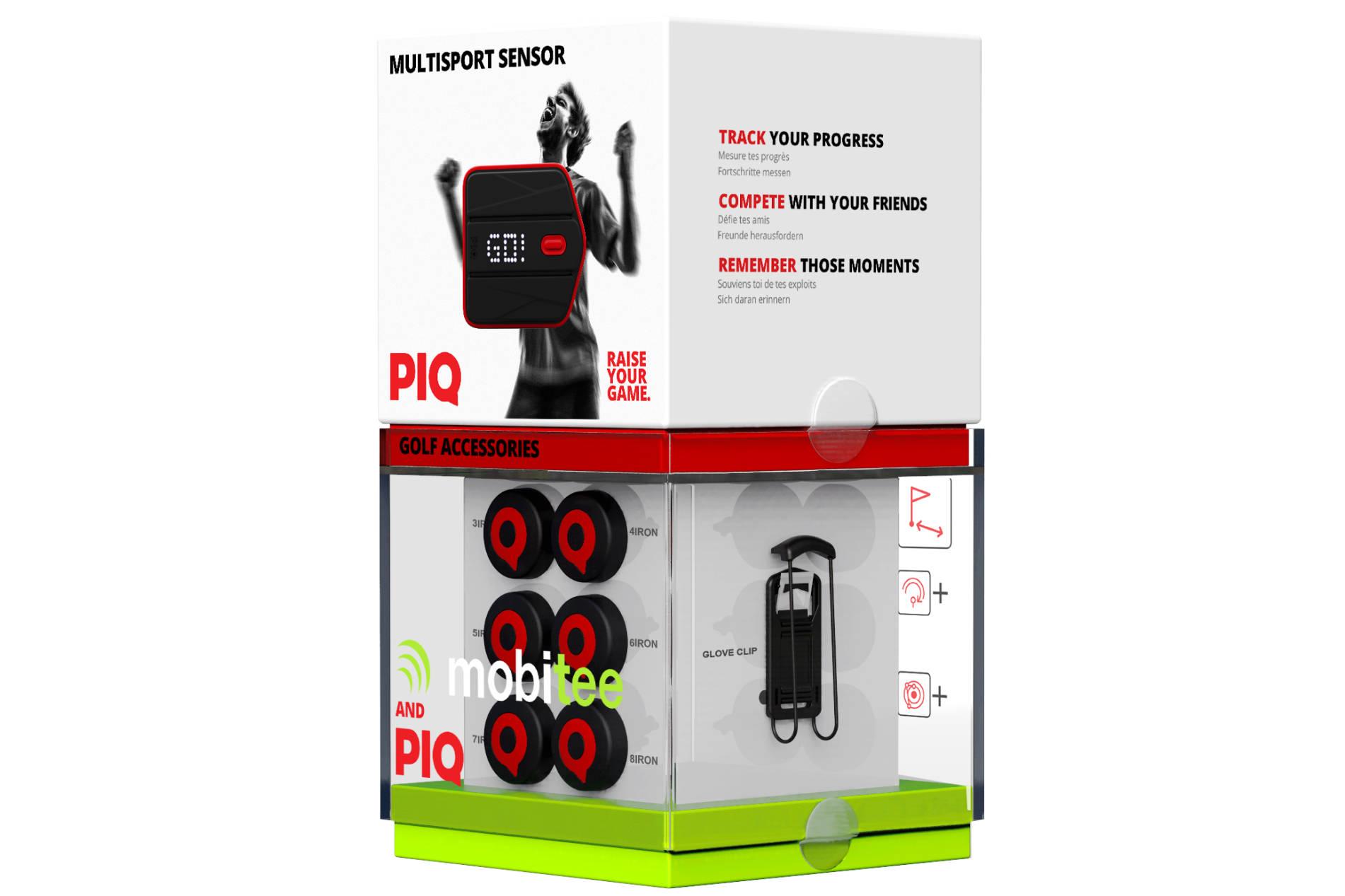 Mobitee & PIQ GPS golf performance tracker review