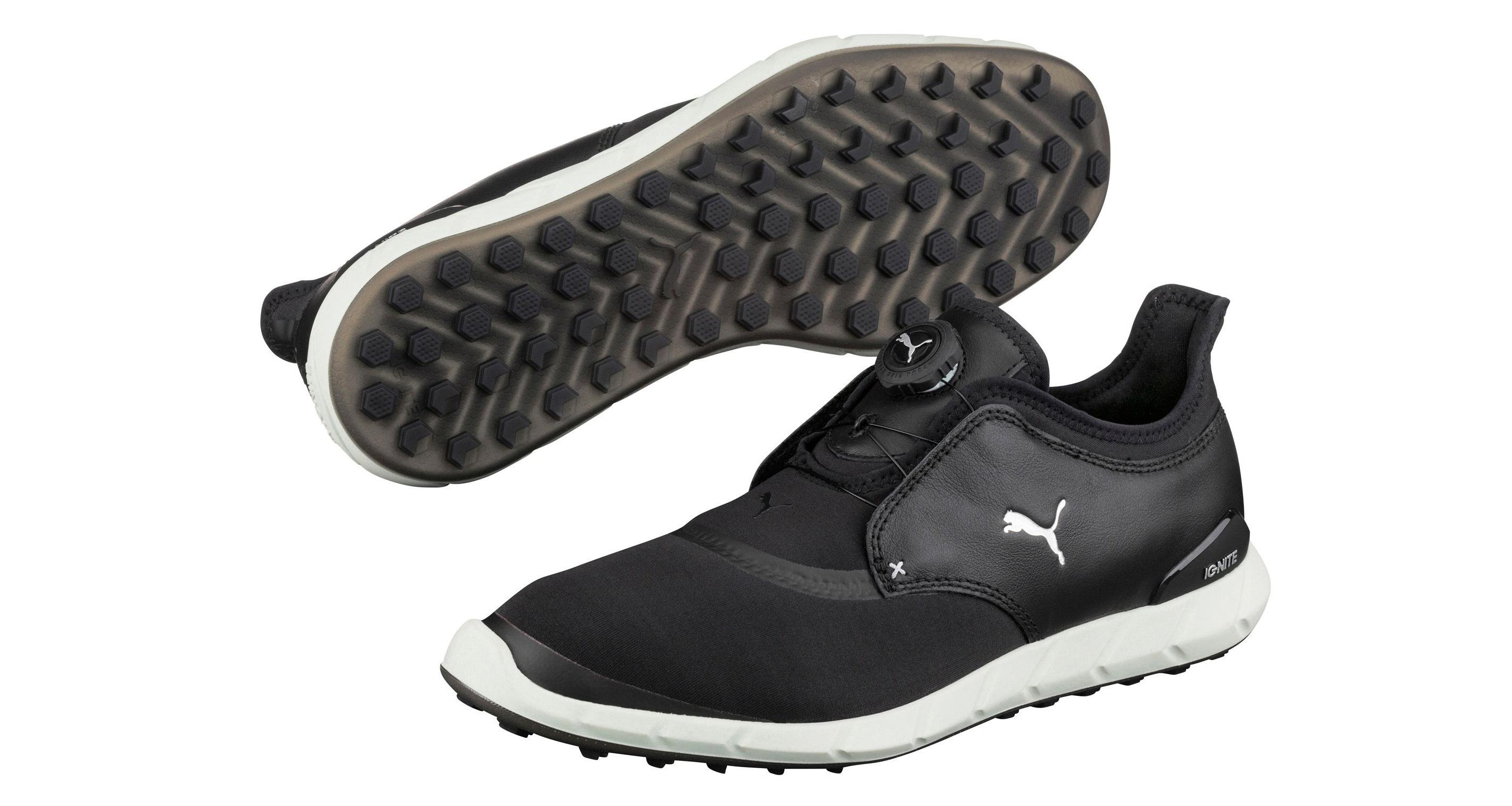 puma ignite spikeless sport disc golf shoe review