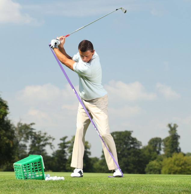Stabilise your swing with GolfBand