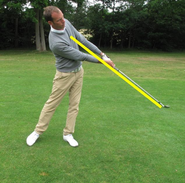 Golf Practice Drills: compress ball
