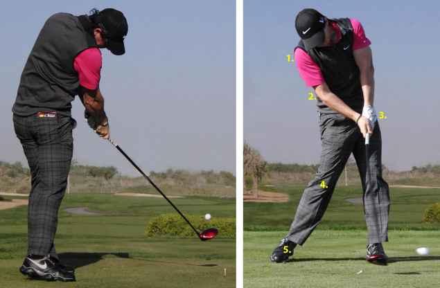 Basic golf swing tips - 5: Impact