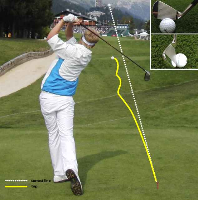 Golf swing tips - 7: How to stop topping the ball