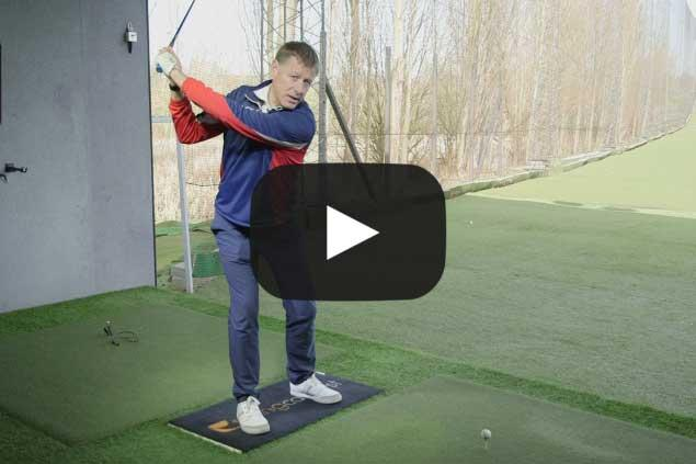 Increase distance: Step back drill