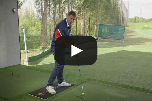 How to stop hitting the ball fat: the tape drill