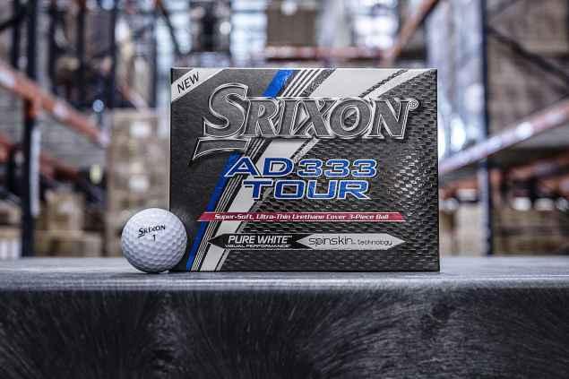 Srixon launch third generation AD333 TOUR golf ball