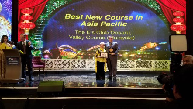 The Els Club Desaru Coast – Valley Course named 'Best New Course in Asia Pacific