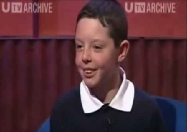 rory mcilroy appears on the kelly show age 9