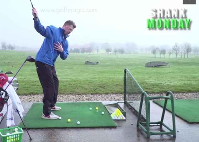 how to stop coming over the top golf swing tip