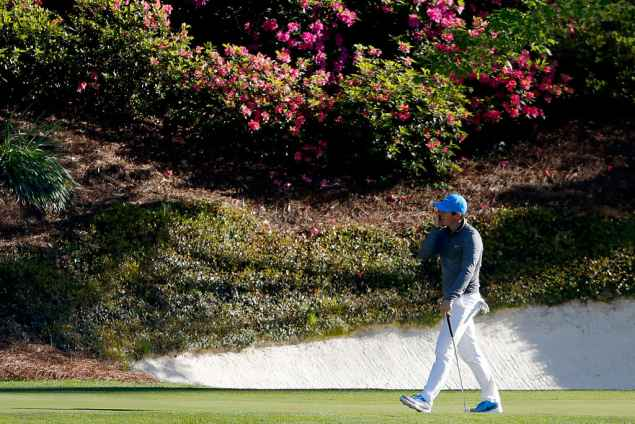 McIlroy shares his secret to Augusta's greens