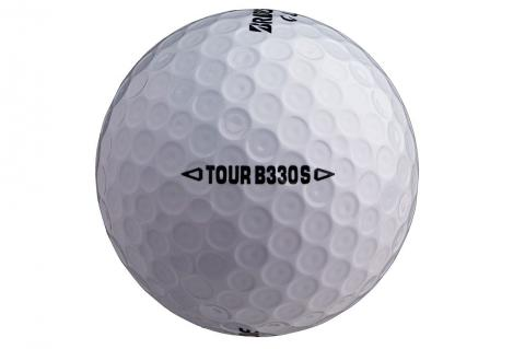 bridgestone tour b330-s ball tiger woods