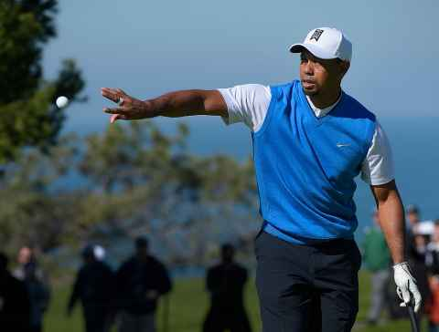 tiger woods reveals nike golf ball was made by bridgestone