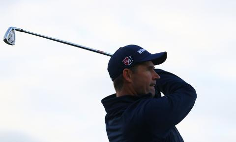 padraig harrington proves the golf ball doesn't go too far in 2018