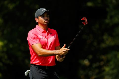 jason day using 2018 taylormade red putter