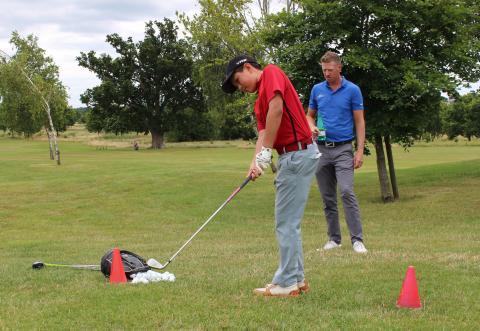 how best to develop junior golf