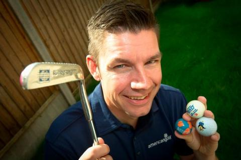 crazy golf fan en route to playing every course in the uk