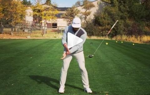 coolest golf swing in the world