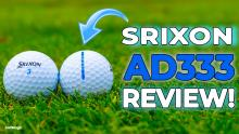 New Srixon AD333 Golf Ball Review! Is this golf's MOST POPULAR ball?