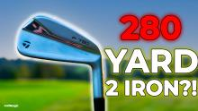 NEW TaylorMade P790 UDI 2021 Review! How far does this driving iron go?