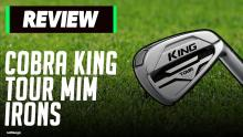 Cobra King Tour MIM Irons Review | We Did NOT Expect This!