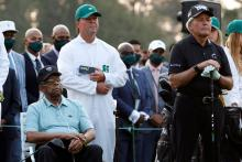 """Gary Player on his son's Masters controversy; """"Man's got to take his punishment"""""""