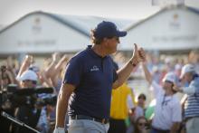 Golf Punter wins $300,000 on Phil Mickelson winning US PGA