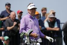 Golf fans react as Ian Poulter DIGS OUT CLASSIC SHINY GOLD SHIRT