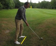 Toughest Golf Shots: ball above feet