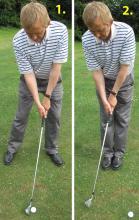 Golf Practice Drills: basic swing drill