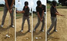 Golf Practice Drills: basic bunker drill