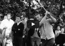 WATCH: Secret to Arnold Palmer's swing
