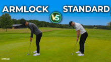 Armlock vs Standard Golf Putting Technique! Could you turn to ARMLOCK putting?