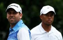 sergio garcia's big question mark over tiger woods