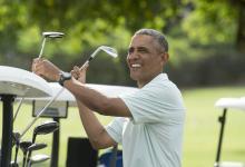 barack obama maryland golf exclusion row