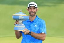 dustin johnson wins wgc match play, in the bag