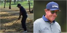 PGA Tour: How to hit Phil Mickelson's INCREDIBLE decked driver from the trees