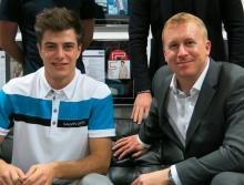 galvin green signs niall horan managed guido migliozzi