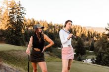 Calliope Golf introduce FASHIONABLE CLOTHES for the modern FEMALE GOLFER!