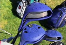 Golf fans react as a golfer PUTS CROCS ON HIS GOLF CLUBS!